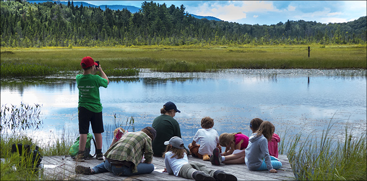 Children's Nature Programs at the VIC: Exploring Adirondack Wetlands at Heron Marsh