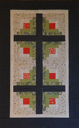 log cabin quilt in a day instructions