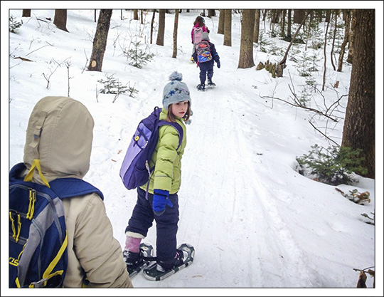 Children's Nature Programs: Exploring the VIC on Snowshoes