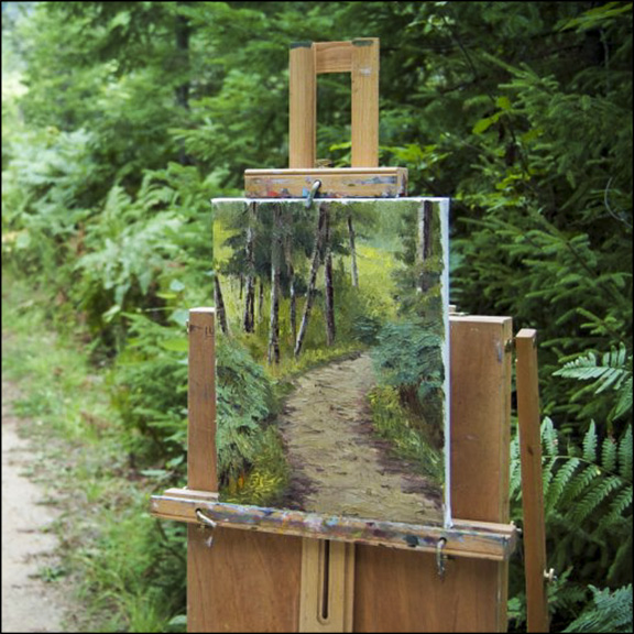 Plein Air Painting at the VIC